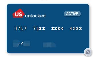 US Unlocked虚拟信用卡