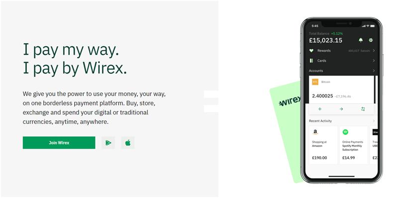 Wirex虚拟卡