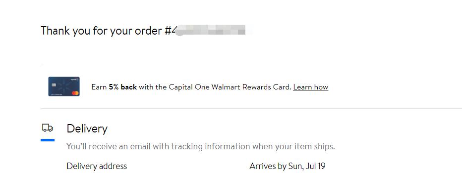 沃尔玛walmart虚拟信用卡