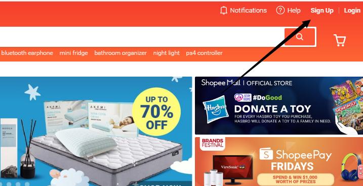 Shopee虚拟信用卡1