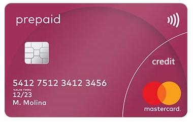 预付信用卡图片