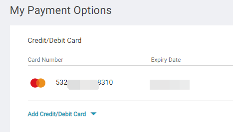 Lazada虚拟信用卡