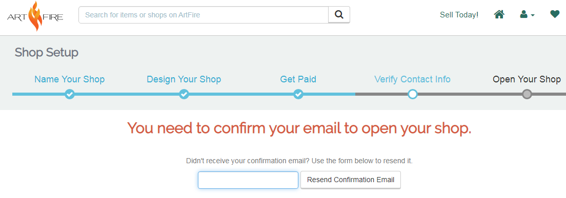 Artfire虚拟信用卡