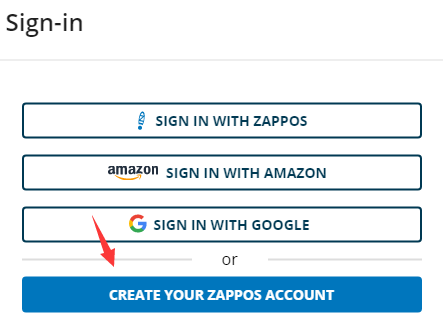 zappos虚拟信用卡