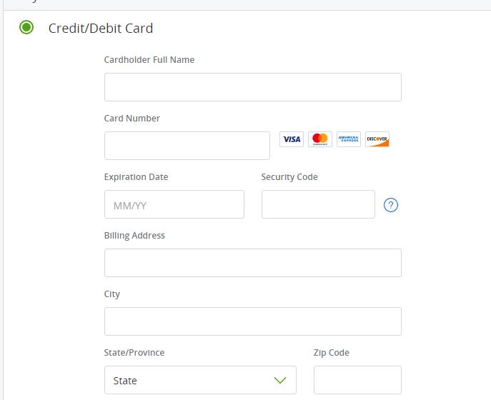 Groupon虚拟信用卡